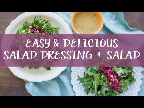 Easy Salad Dressing // Vinaigrette for Spring