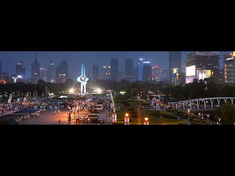 JINAN ( CAPITAL OF SHANDONG PROVINCE) Time Lapse Video | CHINA 2017