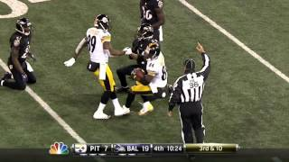 Xbox One NFL App Test - Ravens vs Steelers Thanksgiving 2013 (HD)