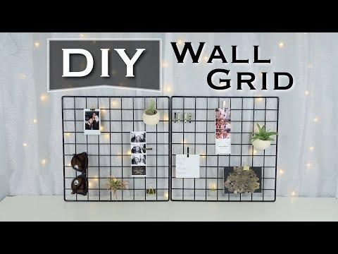 DIY WALL GRID DECOR