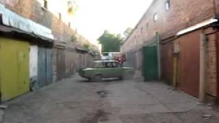 Аххааха)))Пьянь за рулем))