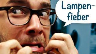 Lampenfieber!? Was tun gegen Nervosität?