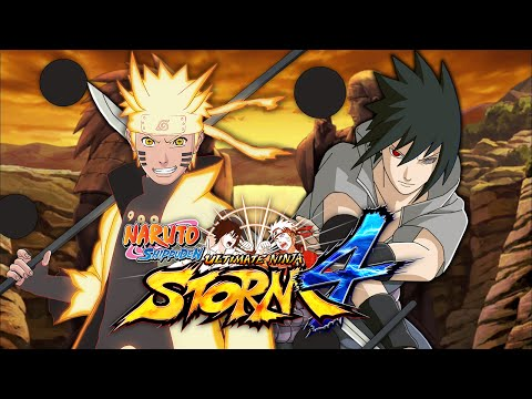 Naruto Six Paths Mode VS Sasuke Rinne Sharingan | Naruto Shippuden: Ultimate Ninja Storm 4 (Duels)