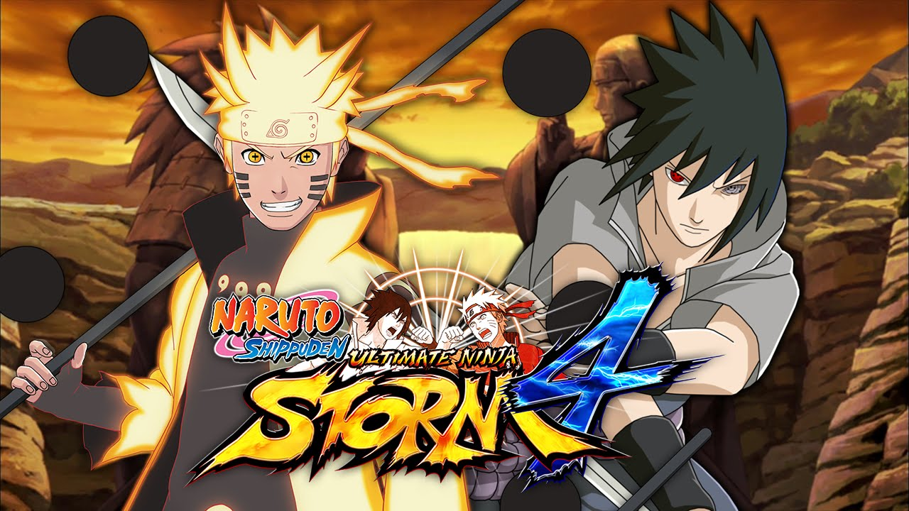 Naruto Six Paths Mode VS Sasuke Rinne Sharingan