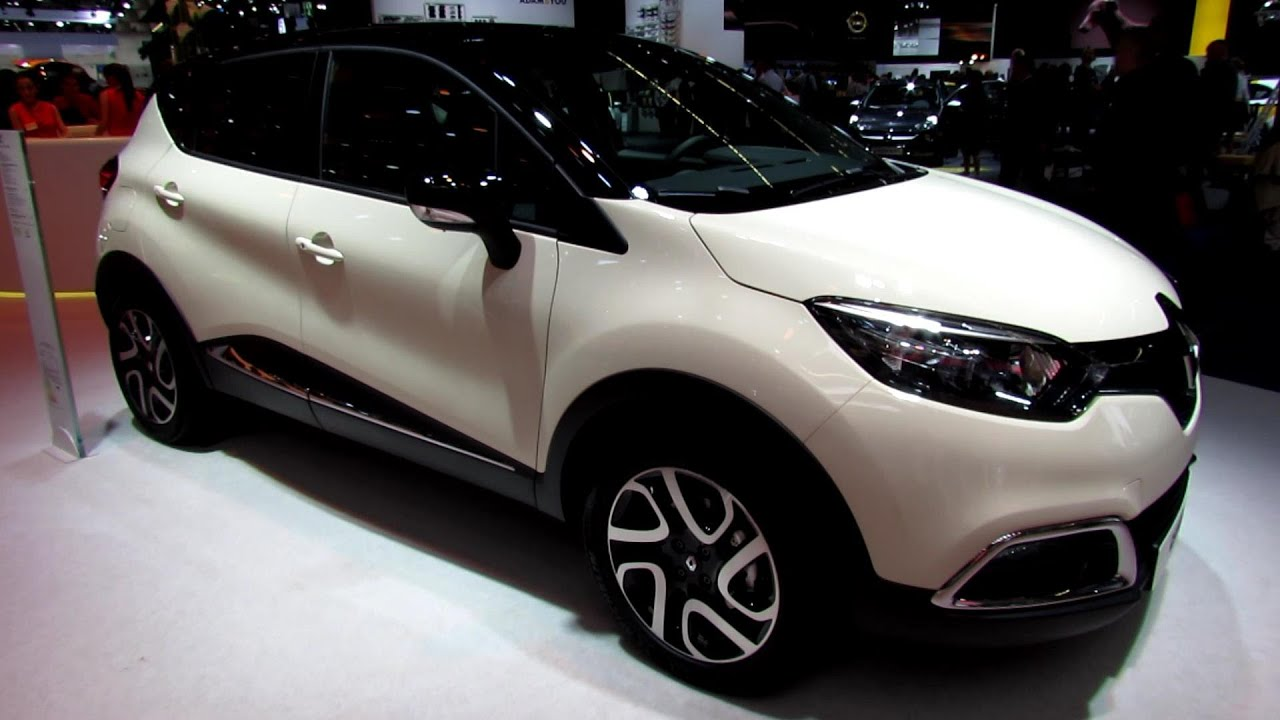 2014 Renault Captur dCI  Exterior and Interior Walkaround  Debut