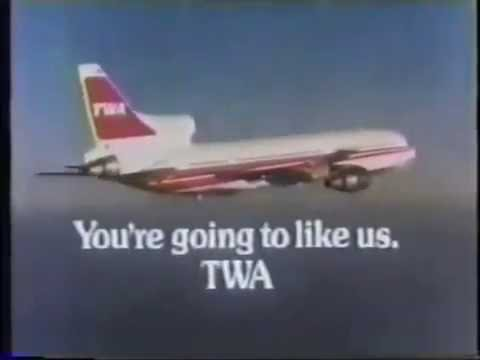 "1980 TWA ""Right"" Commercial"