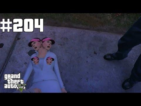 GTA 5 #204 Die Frau ist auf der Straße ertrunken [Deutsch] Let´s Play GTA 5 PS4