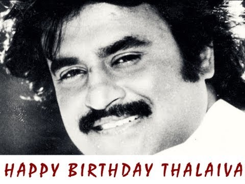 Superstar Rajinikanth Song - Rajini Birthday Anthem - Happy Birthday Thalaiva!