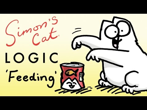 Thumbnail: Simon's Cat Logic - Things You Didn't Know About Feeding Time!