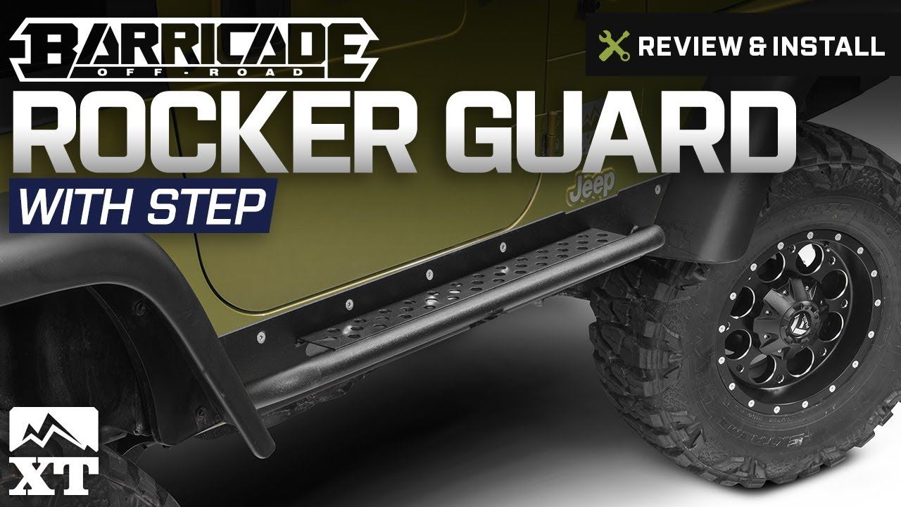 Jeep Wrangler Barricade Rocker Guard W   Step  1997