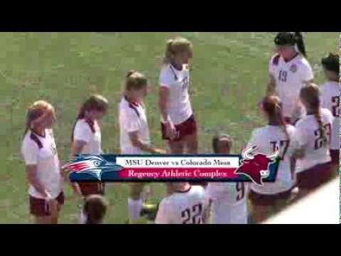 Women's Soccer vs Colorado Mesa - MSU Denver
