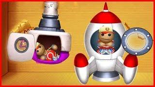 Buddy Space Rocket Jet Pack 4 VS The Buddy Kick The Buddy Gameplay