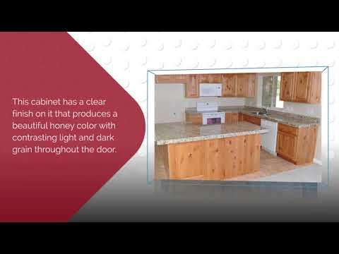 Natural Wood Cabinets | Knotty Alder Cabinets. KnottyAlderCabinets.com