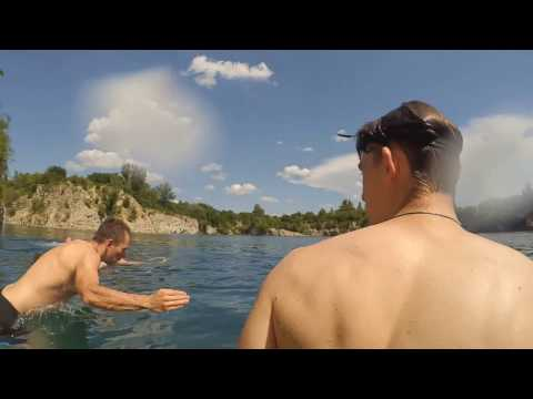 Xiaomi Action Camera YI underwater in Zakrzówek, Krakow, Poland Travel