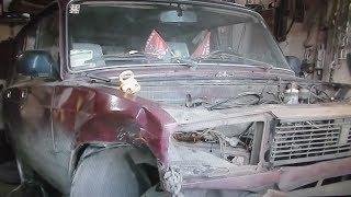 Ваз 2104 . Кузовной ремонт .Часть 2