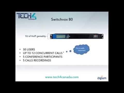Switchvox 80 IP PBX- Tech 4 Canada