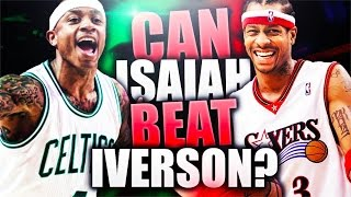 CAN ISAIAH THOMAS BEAT ALLEN IVERSON 1 V 1? NBA 2K17