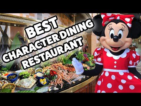 The Best Character Dining Restaurant In Disneyland Paris