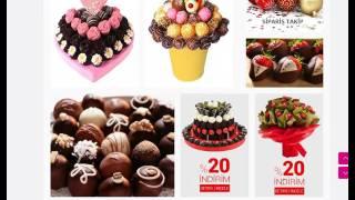 Çikolata sepeti ankara - www.birbuketmeyve.com/