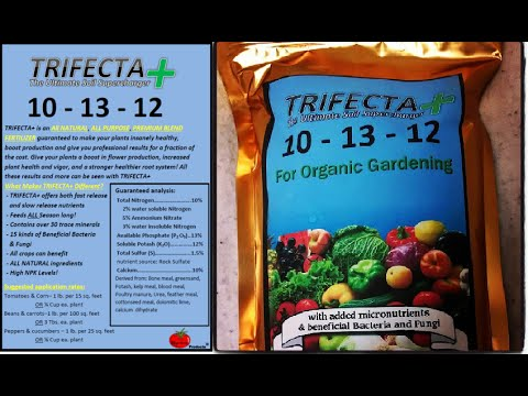 What is Trifecta+ Fertilizer & How Do I Use It?
