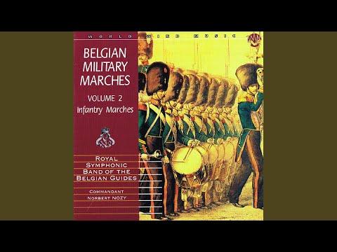 March of the 1er Régiment de Carabiniers Prince Baudouin