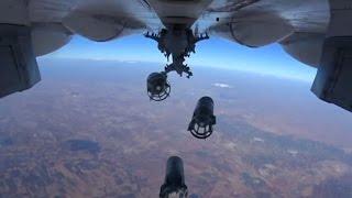 Russiske kampfly bomber oprørere under amerikansk beskyttelse thumbnail
