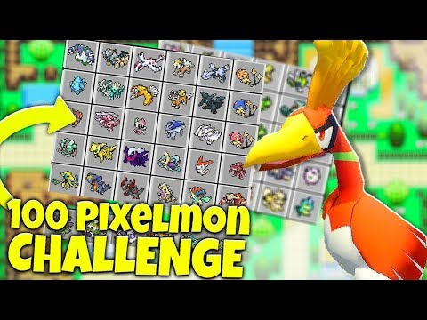100 Vs 100 POKEMON CHALLENGE OP ZYGARDE - MINECRAFT PIXELMON MOD BATTLE | JeromeASF