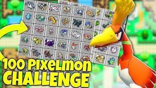 100 vs 100  POKEMON CHALLENGE OP ZYGARDE - MINECRAFT PIXELMON MOD BATTLE
