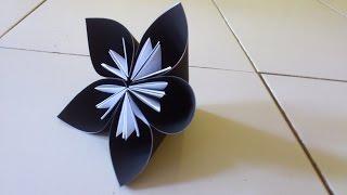Cara Membuat Origami Bunga Kusudama | Origami Bunga dan Tanaman