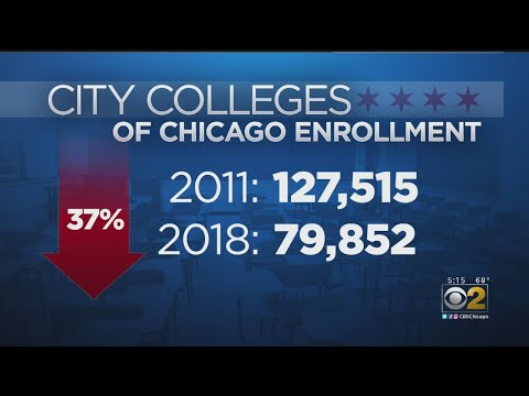 Officials Respond To Drop In City Colleges Of Chicago Enrollment