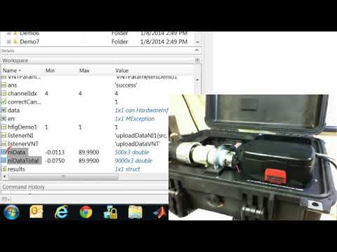 Battery Data Acquisition and Analysis Using MATLAB