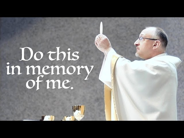 ✠ Do This in Memory of Me (Video for Corpus Christi)