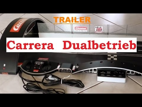 carrera dualbetrieb bauen trailer carrera digital bahn. Black Bedroom Furniture Sets. Home Design Ideas