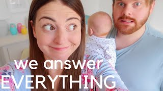 BRUTALLY HONEST. QUICK FIRE Pregnancy and Birth Q&A!