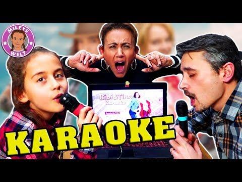 OHREN ZUHALTEN - Wir singen KARAOKE - ziemlich schrecklich ;-) | Mileys Welt