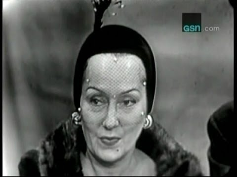 What's My Line?  Bennett Cerf's first !  Gloria Swanson Oct 15, 1950