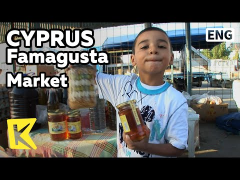 【K】Cyprus Travel-Famagusta[키프로스 여행-파마구스타]전통시장의 꼬마 상인/Market/Northern Cyprus/Fruit/merchant/Coffee