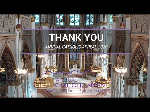 Thank-You from Bishop Vetter