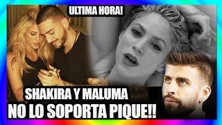 """""""Maluma se cogió a Shakira"""", El Video De Shakira Y Maluma Que Puso Celoso A Pique"""