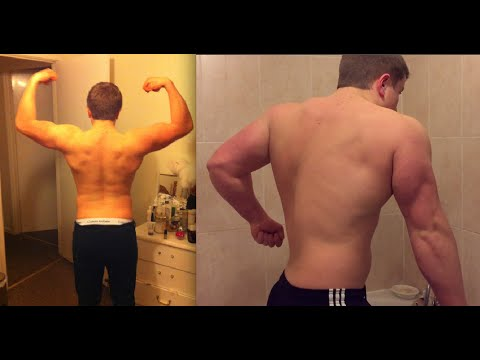 1 YEAR OF GAINS - Realistic Natural Bodybuilding Results - Andrew Turner (Natural Transformation)