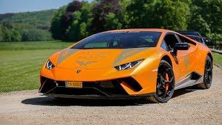 Lamborghini Huracan LP640-4 Performante - Crazy Fast Accelerations !