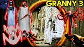 НАШЁЛ СЕМЬЮ ГРЕННИ! - Granny 3 хоррор слендермен слендерина бабка ребенок слендерины