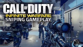 Call of Duty: Infinite Warfare Sniper/Sniping Multiplayer Gameplay w/ Quad Feed! (COD IW Sniping)