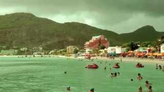 P & O Azura 2015 Caribbean Cruise St Maarten West Indies ...........720p