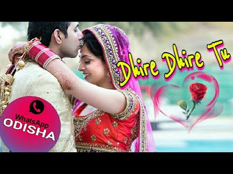 Dhire Dhire Tu Jibanare Mora || Wedding Status Video Odia || Evergreen Odia Songs