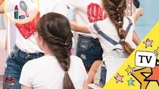 Podrabiany Warkocz - Modne Fryzury dla dziewczynek - My3