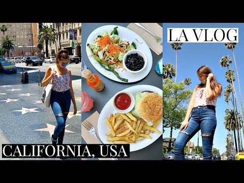 L.A VLOG // MY FIRST TIME IN AMERICA!