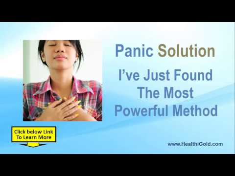 How to Stop Panic Attacks Fast? | The 60 Second Panic Solution
