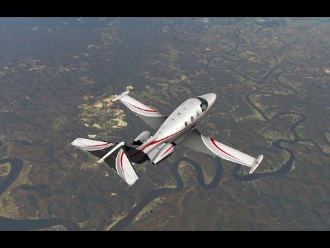 X-Plane 11 + Ortho4XP - YCFS (Coffs) to YMMB (Moorabbin) @ FL300