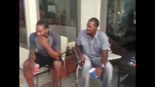 Kawhi leonard in happy face spend time  on his daughters birthday party